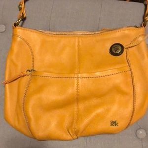 The Sak orange purse